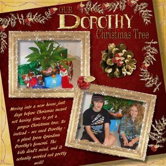 2010 - Dorothy Christmas Tree