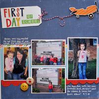 First Day *Echo Park Little Boy*