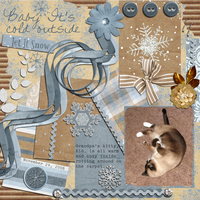 Baby It's Cold Outside - Jan Digi CT Reveal Challenge