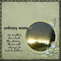 Ordinary Moments