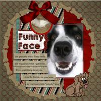 Funny Face - Jan Digi Do-Able Challenge