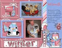 Winter Warmth - Jan Ad Inspiration Challenge