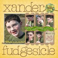 Xander vs. the Fudgesicle