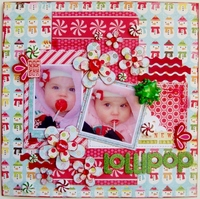 Lollipop-the New Candy Cane - Sketches2Scrapbok v2