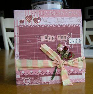 MAKING MEMORIES Je t'Adore-Love You 4Ever