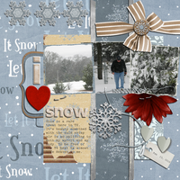 I Heart Snow - Jan Sketch Contest