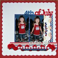 4th of July Cutie Pie