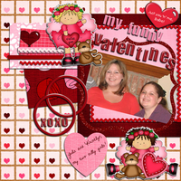 My Funny Valentines - Feb Digi Do-Able Challenge