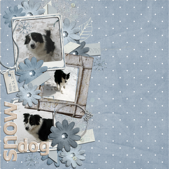 Snow Dog - Feb Digi Guest CT Challenge #1