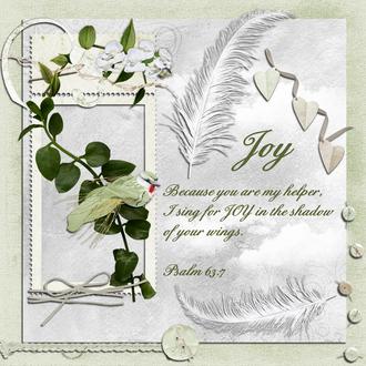 Joy - Feb Faithbooking Challenge