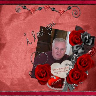 You'll Always Be My Valentine - Feb Digi Guest CT Challenge # 2
