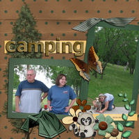 Camping - Feb Sketch Challenge
