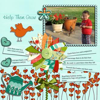 Help Them Grow - Feb Ad Inspiration Challenge