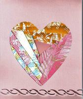 Vday- first Iris Fold card