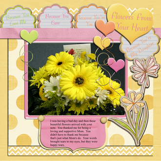 Flowers From Your Heart - Feb Countdown Challenge