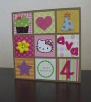 Ava's Birthday Card