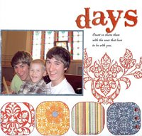 Days count - Letter D for ABC challenge