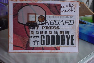 Thank you cards for b-ball