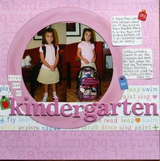 Kindergarten- Challenge # 5