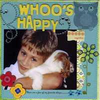Happy ( Whooo's Happy) letter H