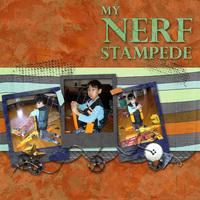 My Nerf Stampede