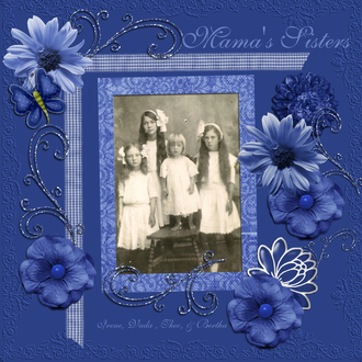 Mama's Sisters - March Scraplift the GCT Challenge
