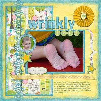 Wrinkly Feet