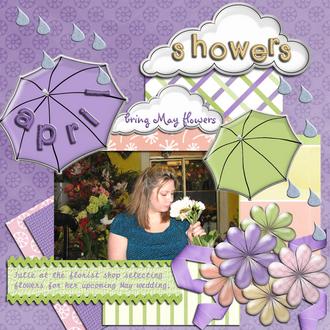 April Showers Bring May Flowers - April Color Challenge
