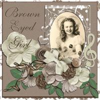 Brown Eyed Girl - April Music Challenge