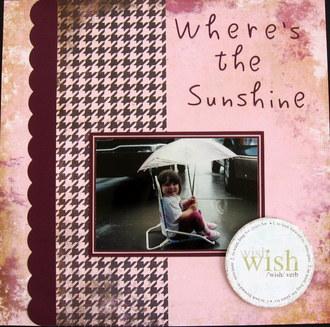 Where's The Sunshine