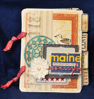 *Webster's Pages* Maine Memories Mini Album