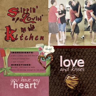 Stirrin' Up Lovin' in the Kitchen