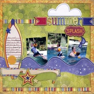 """Summer Splash"" Fancy Pants CT Reveal"