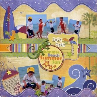 """""""Summer Beach Summer Sun"""" Fancy Pants CT Reveal"""