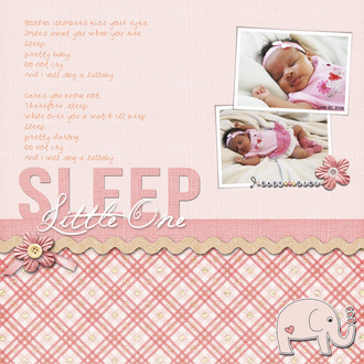 Sleep Little One (CT Reveal)