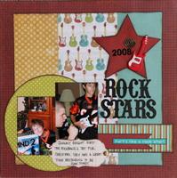 Rock Stars - Crop Challenge #17