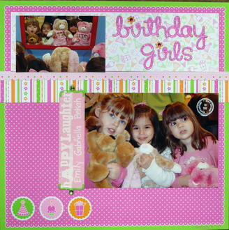 Birthday Girls- Challenge #15