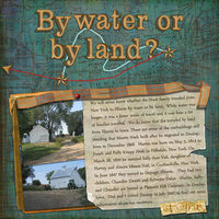 By water or by land