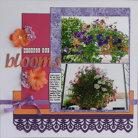 Mothers Day Blooms - May Mfr. Challenge