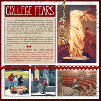 College Fears