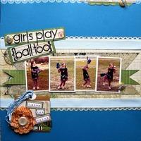 girls play ball too