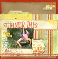 ^Simple Stories Reveal^  Summer Days. Rock Springs