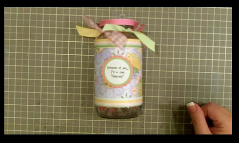How To Make This Smartie Jar Teacher Gift