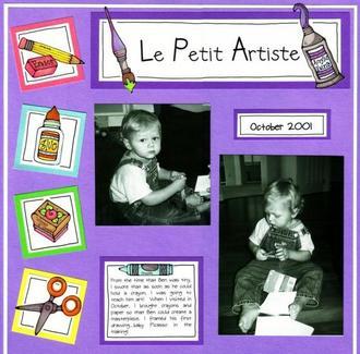 Le Petit Artiste