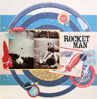 *October Afternoon Reveal* Rocket Man