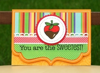 you are the sweetest card