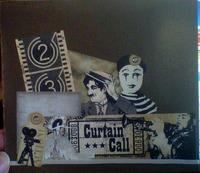 Curtain call birthday card