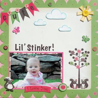 Cute lil' stinker
