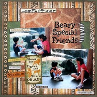 Beary Special Friends **Bo Bunny Zoology CT Reveal**