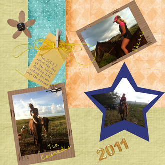 First Attempts at Scrapbooking